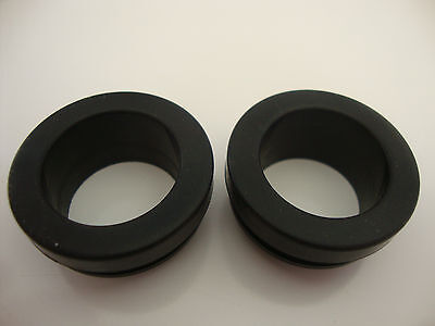 Rubber Breather Grommets For Aluminum Valve Covers One Pair Sbc Bbc Sbf #4996