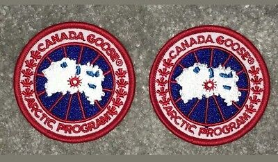 ×2 Canada Goose High Quality Replacement Badge / Patch New. UK seller ...lp