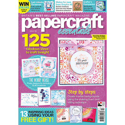 Papercraft Essentials Magazine #153 with FREE All-Occasion 52-page supplement