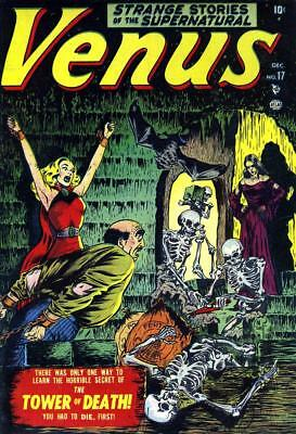 Venus #17 Photocopy Comic Book