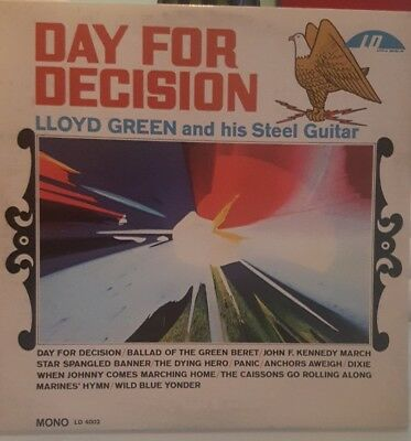 Lloyd Green-And His Steel Guitar-@day For Decision@lp Vinyl Mono Us Pres.ld 4002
