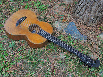 Antique guitar by Peter Schulz, 19th century terz guitar