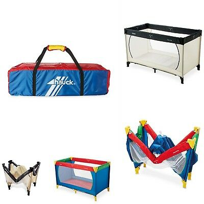 Hauck Dream N Play Travel Cot 117 x 60cm With Mattress Next Day Delivery BNIB