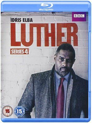 Luther Complete Series 4 [BBC] (Blu-ray Region-Free)~~~Idris Elba~~~NEW & SEALED