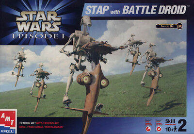 StarWars S.T.A.P. Battle Droid 1999 AMT Model