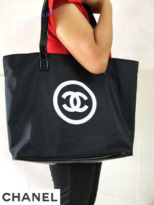 New Authentic CHANEL Bag Precision Beaute VIP Customer Gift Large Tote Bag
