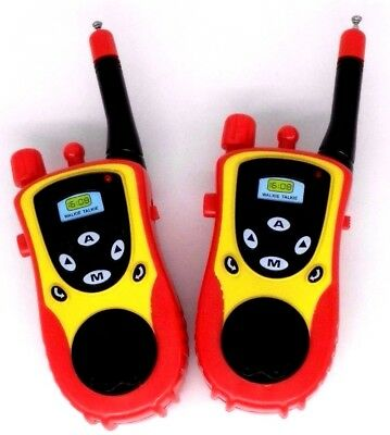 2X Electronic Walkie Talkie Toy Electronic Portable Two-Way Radio Set For Kid-GN