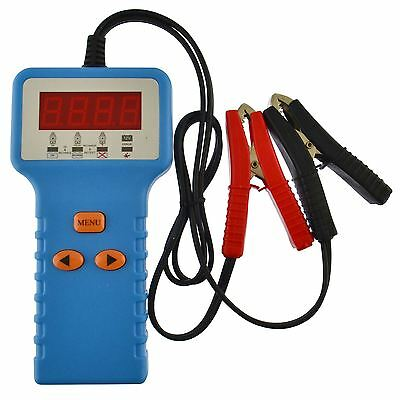 12V Car Battery Tester With Digital And LED Display Charging Starting Units