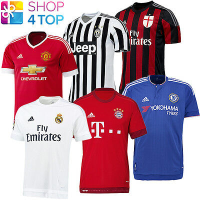 Official Authentic Adidas Soccer Football Team Club  Mens Jersey 2015 2016 New
