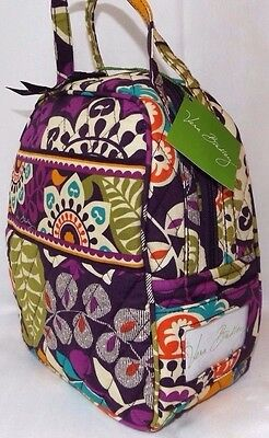 Vera Bradley Lunch Bunch Sack - Insulated Bag - Plum Crazy - Brand New With Tag