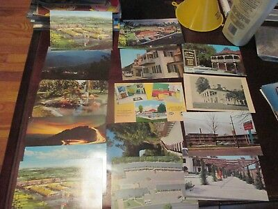 "Vintage Postcards 5.5"" x 3.5"" lot of 16"