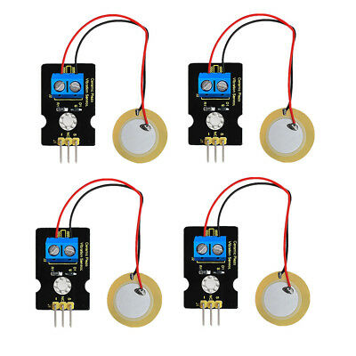 4x Piezoelectric Film Vibration Sensor Module analog signal For Arduino