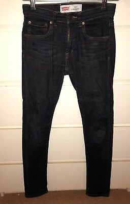 Levi's 501 Skinny Jeans Age 12 Years Dark Denim
