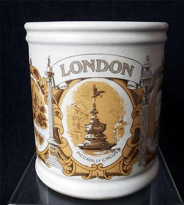Denby Pottery Regional Series Mug Featuring London made in Stoneware