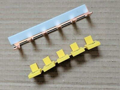 Wylex Copper Busbar 6 Spikes, Insulation cover for CCU Fuse-box