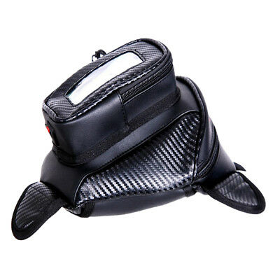 Magnetic Motorcycle Bike Oil Fuel Tank Bag Outdoor Waterproof Saddlebag