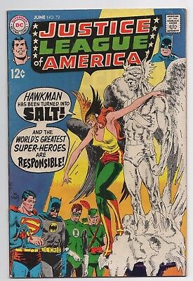 DC Comics Justice League of America #72 Silver Age