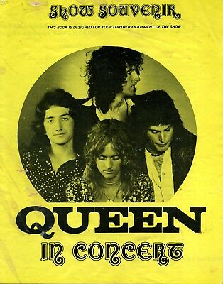 0606 Vintage Music Poster Art  Queen In Concert