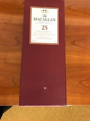 Macallan 25 Box