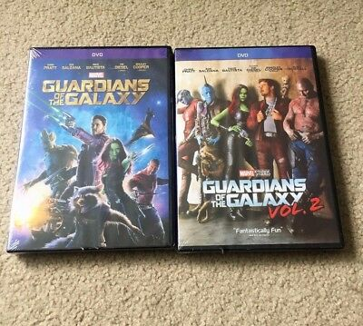 Guardians of the Galaxy Volume 1 and Volume 2 DVD Bundle Vol 1-2