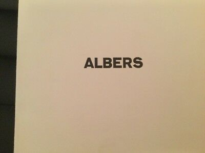 """JOSEF ALBERS >Hommage to the Square< SIEBDRUCK 19x19,in Katalog """"Sidney Janis G"""""""