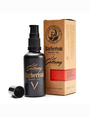 Captain Fawcett Mens Gentlemans Barberism Beard Oil Conditioning Oil 50ml
