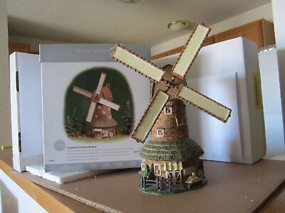 Department 56 Dickens Village Crowntree Freckleton Windmill-Limited Numbered Ed