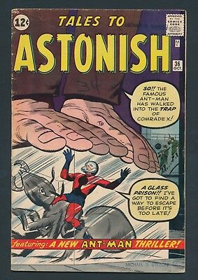 Key Silver Age Marvel Comics 1962 Tales To Astonish #62 - Solid Copy
