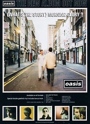 0622 Vintage Music Poster Art - Oasis - Whats The Story Morning Glory