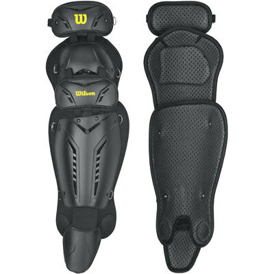 Wilson Guardian Umpire's Leg Guards, 15.5-Inch