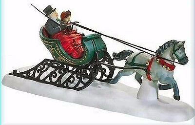 ~~ Dashing Through The Snow ~~ 58203 ~~ Mint In Box ~~ Dept 56 Dickens