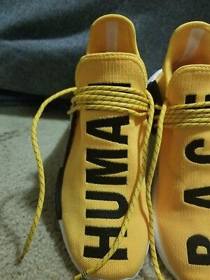 Adidas Human Race Pharrell Williams PW Yellow