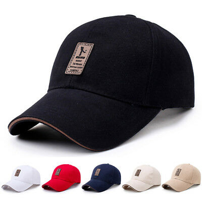 Men's Adjustable Baseball Cap Casual Leisure Hats Fashion Boy Snapback Hat Caps