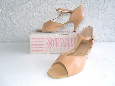 Ballroom Dance Shoes By Roch Valley Made In England Size 8 Us