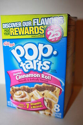 USA Kellogg's Pop Tarts Frosted Cinnamon Roll (8 toaster pastries)