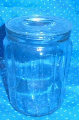 Antique vintage store counter apothecary jar