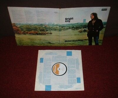 MILLER ANDERSON Bright City LP 1971 DERAM 1st Press!! MINT!!!!