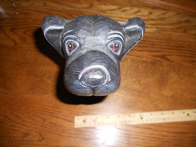Black Lab Glasses Stand 8.5 Inches Tall