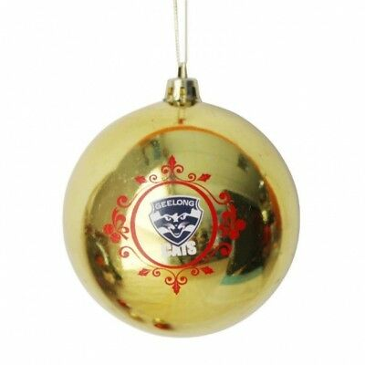 Geelong Cats Official AFL Christmas Tree Bauble Pk 6 FREE POST