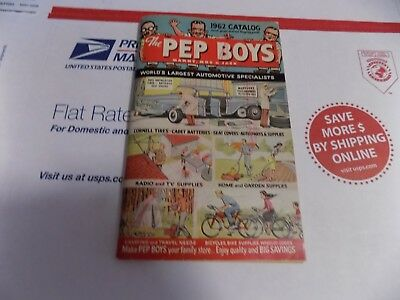 Vintage 1962 Pep Boys Catalog, 165 Pages, Very Good Condition, L@@k !!!!!!!