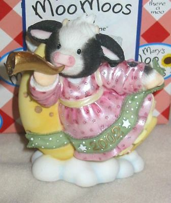 """New - Mary Moo Moo - """"oh Night Bovine"""" New Box And Papers - Priced To Sell"""