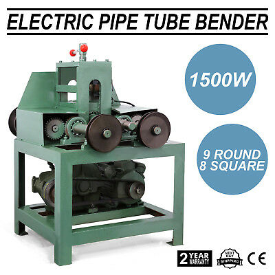 "Electric Pipe Tube Bender 5/8""- 3"" 8 Square 9 Round Stainless Steel Wise Choice"