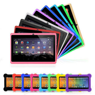 """Newest 7"""" Inch Kids Android 4.4 Tablet Pc Quad Core Wifi Hd Child Children 8Gb"""