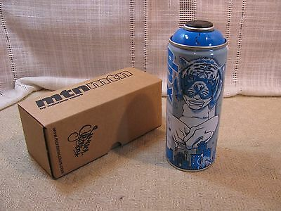 Sam Flores MTN Montana Limited Edition Spray Paint Electric Blue NIB RV-30 Minty