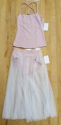 NWT Capezio Top & Skirt with Brief Contemporary Ballet Class Dance Contest