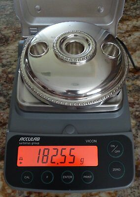 Sterling Silver Candle Holder Scrap or Keep No Dings 182 gr Not Weighted