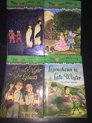 Lot of 4 40-43 Magic Tree House Hardcover