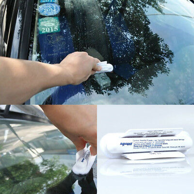 AQUAPEL Cars Windshield Glass Water Rain Repellent Treatments Application