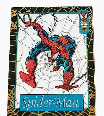 SPIDER-MAN 1994 Suspended Animation Limited Edition Subset# 7 of 12 FLEER Marvel