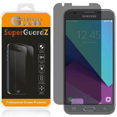 2X Anti-Spy Privacy Tempered Glass Screen Protector For Samsung Galaxy J7 (2017)